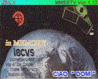 SSTV sur OSCAR-100 Hist1911