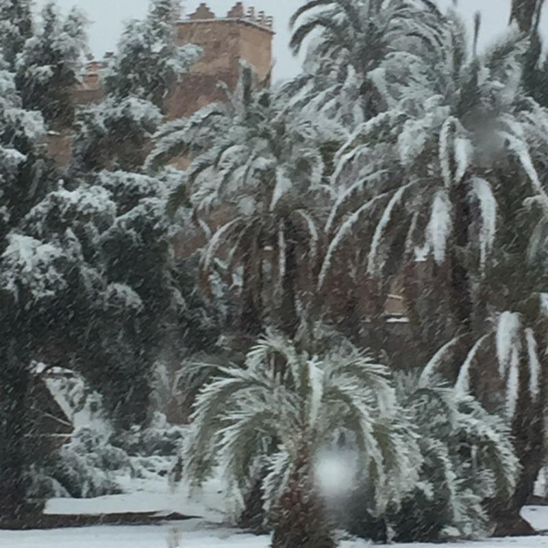 [Maroc/Méteo, saisons, heure] Neige au Maroc  18110