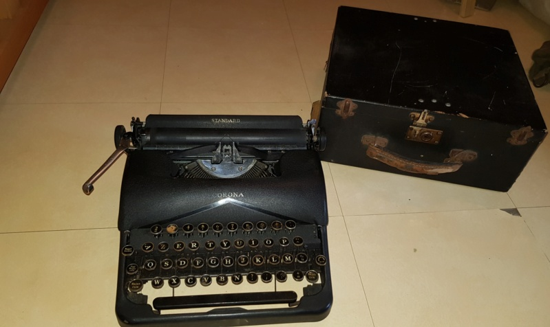 Machine a ecrire 1942 20190410