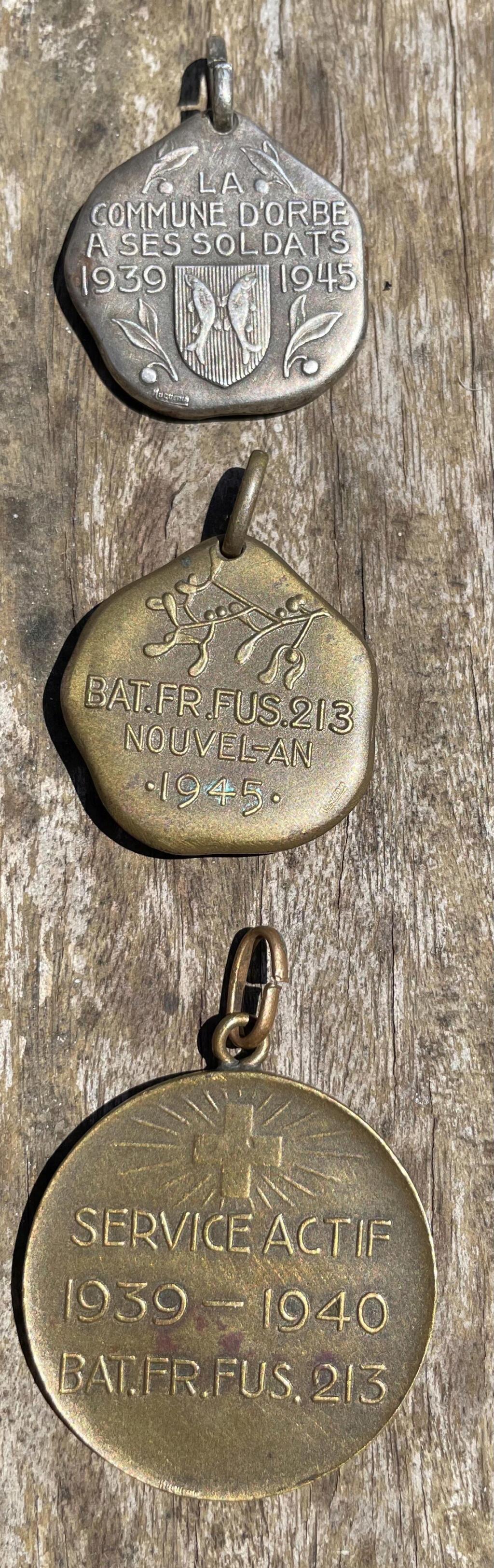 Anciennes médailles suisses 39-45 E9ef3610