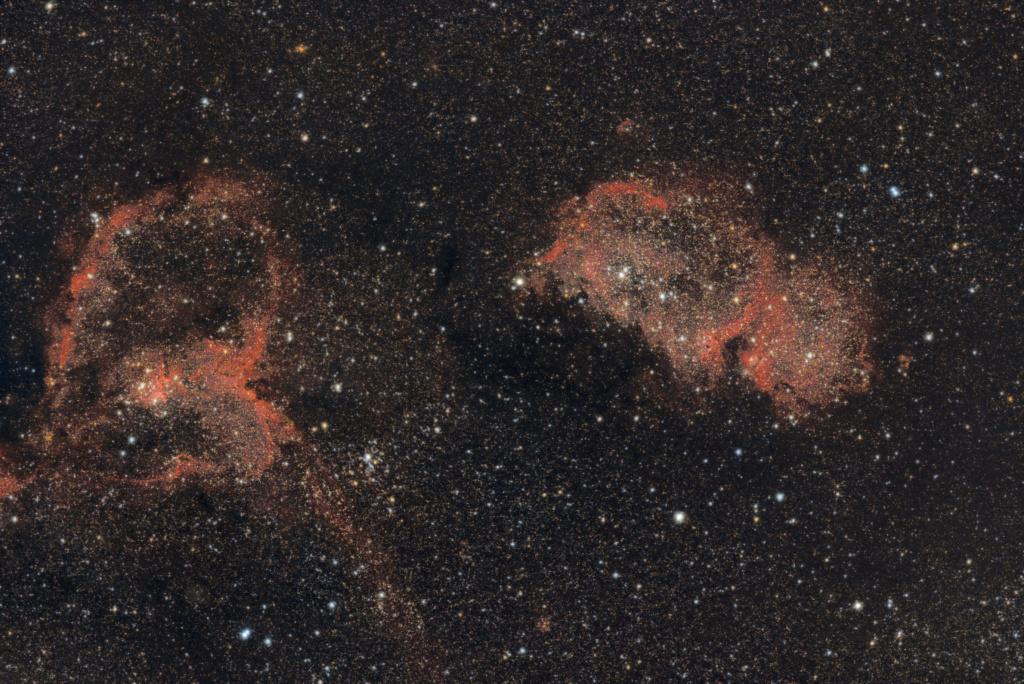 Nébuleuse de l'Âme et du Coeur IC1848 et IC 1805 Coeur_11