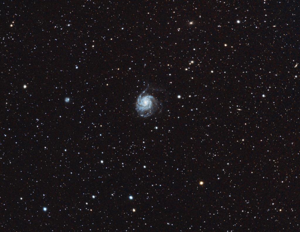 M101 La galaxie du moulinet M101_s10