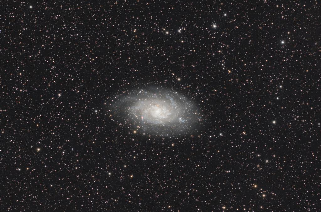 Retour de St-Véran images et compte-rendu M33_la12