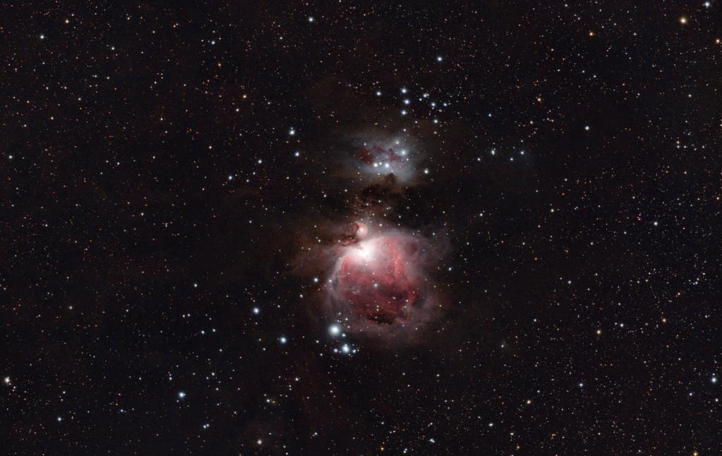 M42 La grande Nébuleuse d'Orion M42_la11