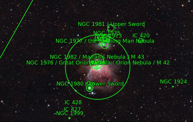 M42 La grande Nébuleuse d'Orion M42_la13
