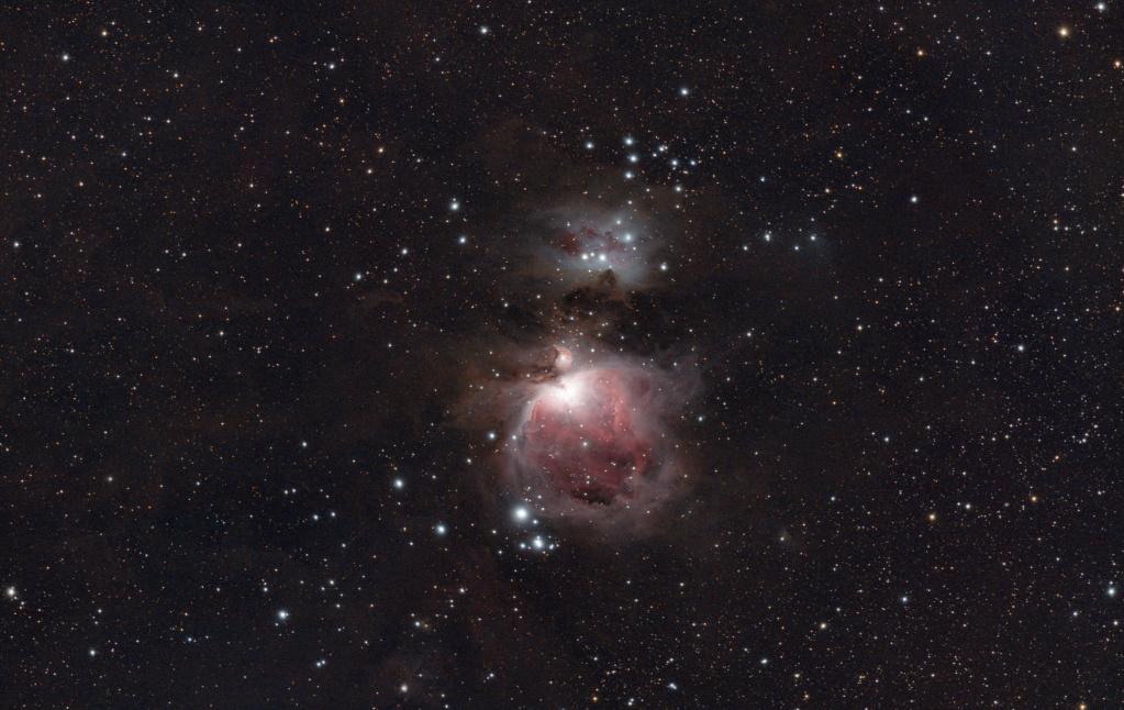 M42 La grande Nébuleuse d'Orion M42_nz10