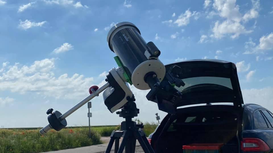 Eclipse partielle du Soleil de ce 10 juin 2021. Ramill11