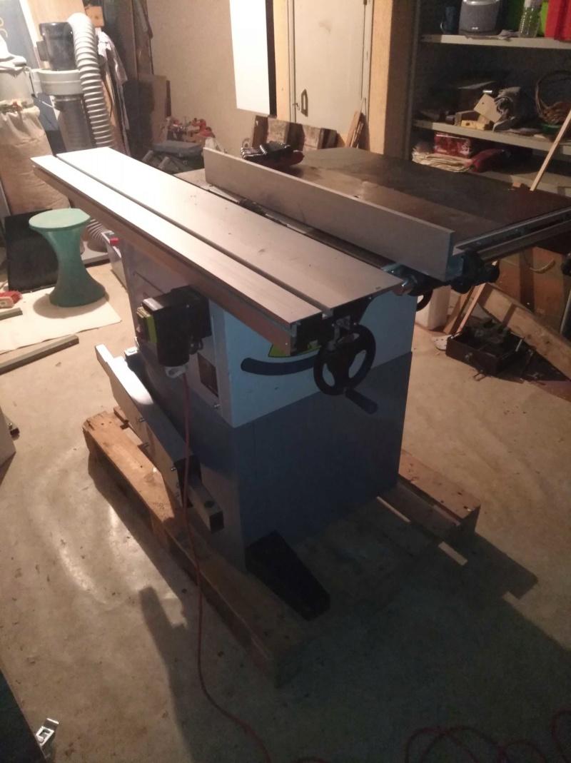 Scie a format LEMAN SST 256 / Fabrication presseur / et Guide d'angle Img_2138