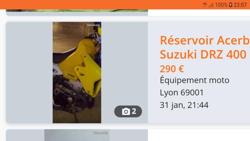 [VENDU] Réservoir Acerbis 15 litres DRZ-S  Screen13