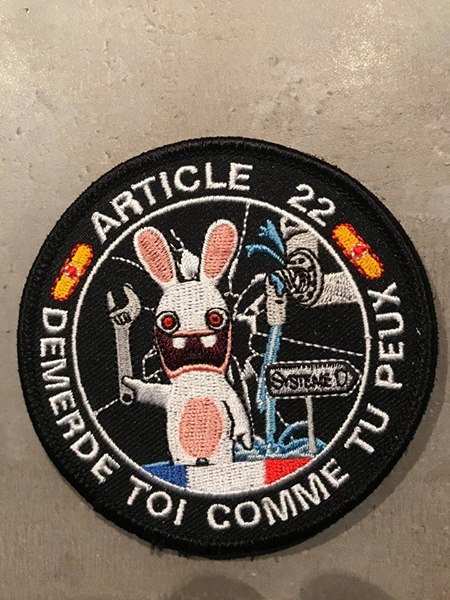 Patch article 22 30594210