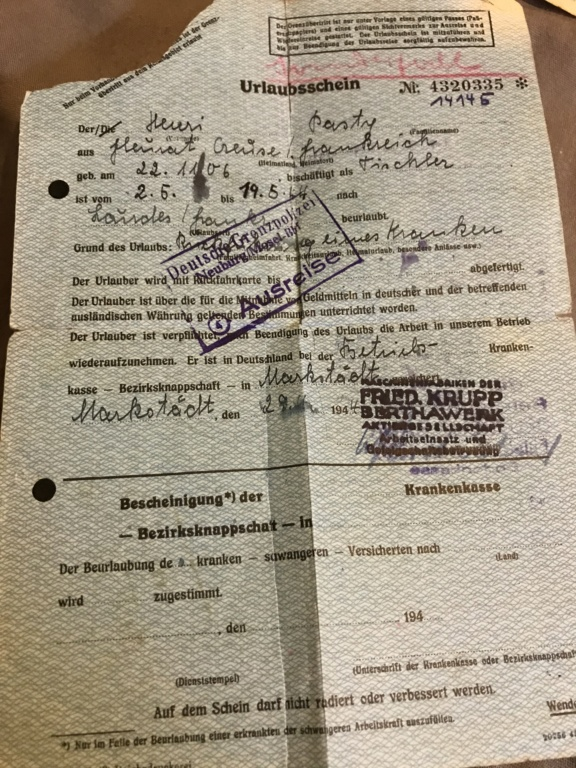 Papier allemand  Abbd7310