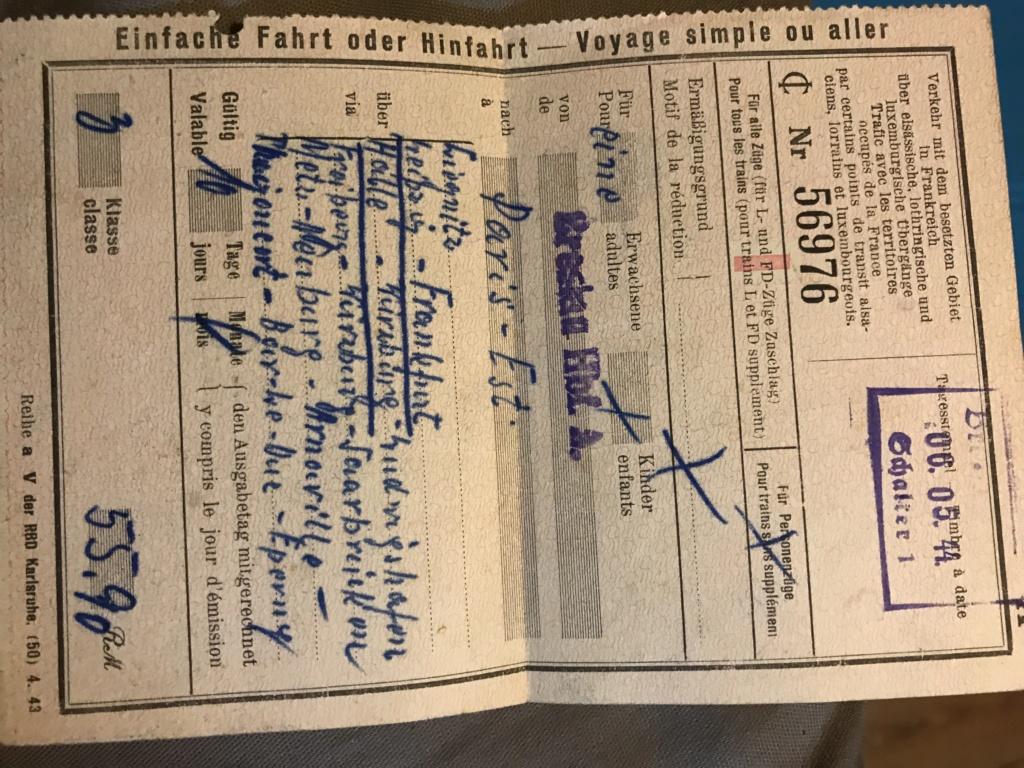 Papier allemand  C4023e10