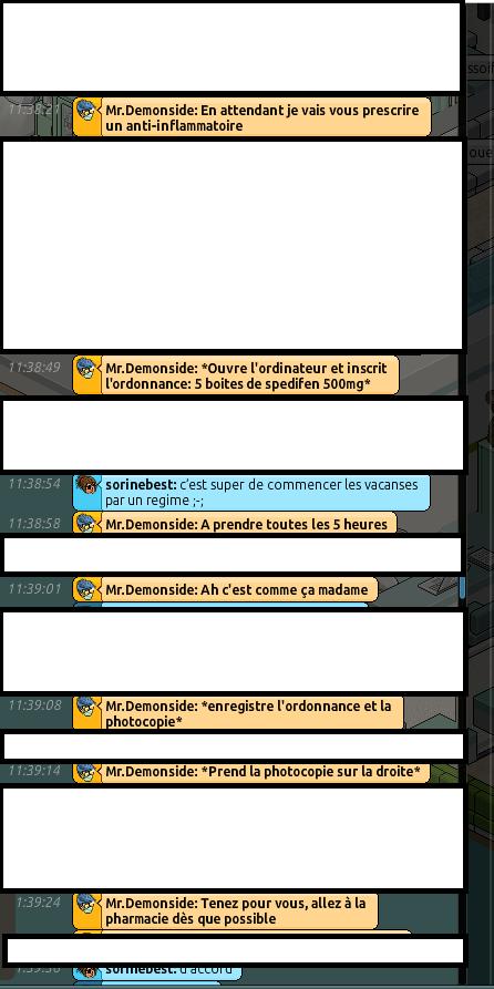 [CHU] Rapport d'actions RP de Mr.Demonside 513