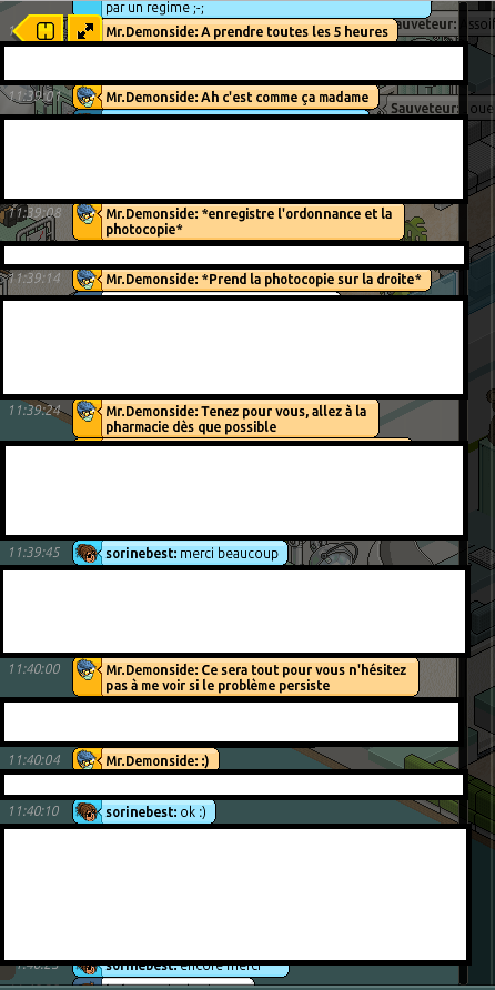 [CHU] Rapport d'actions RP de Mr.Demonside 613