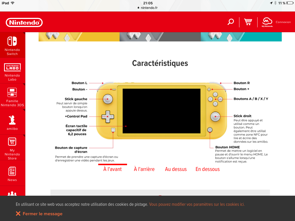 La Nintendo Switch Lite annoncée officiellement ! Image24
