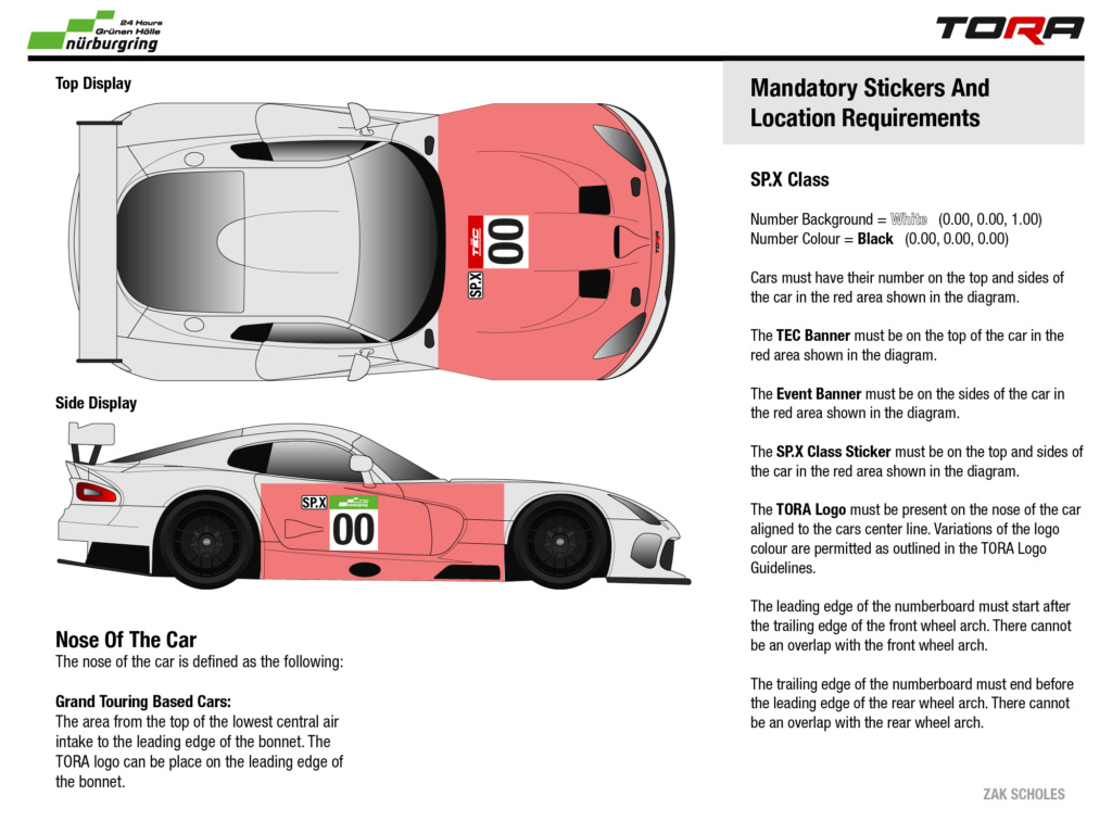 TEC R5 24h Rennen in der Grünen Hölle - Livery & Decal Rules N24_li11