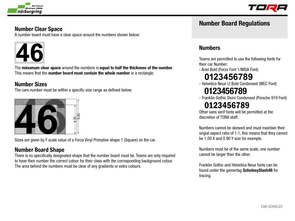 TEC R5 24h Rennen in der Grünen Hölle - Livery & Decal Rules N24_li13