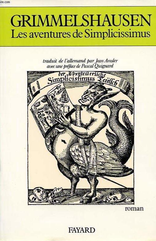 Hans Jakob Christoffel von Grimmelshausen Les_av10
