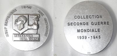 medaillon liberation de la Corse Nhbgvf10