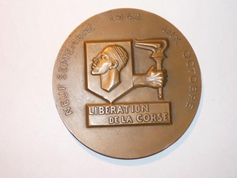 medaillon liberation de la Corse P1050910