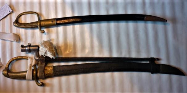 Les sabres briquets 2nde partie : de l'an IX à 1854 - Page 3 P1100447