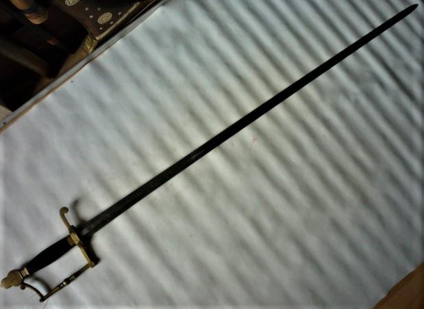 épée glaive de commissaire des guerres  P1100615