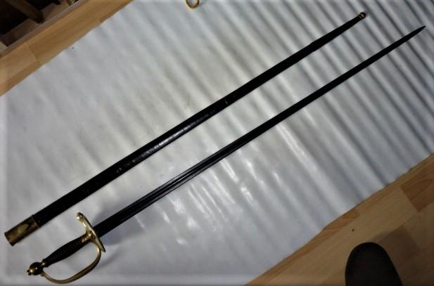 épée unie Mle 1817 pour officier de marine P1100856