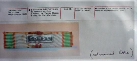 barrette CORSE P1110112