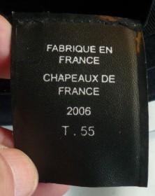 Le tricorne dans l'armée française - présentez vos exemplaires P1110534
