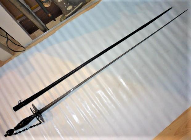 épée de ville de cour de deuil P1110722