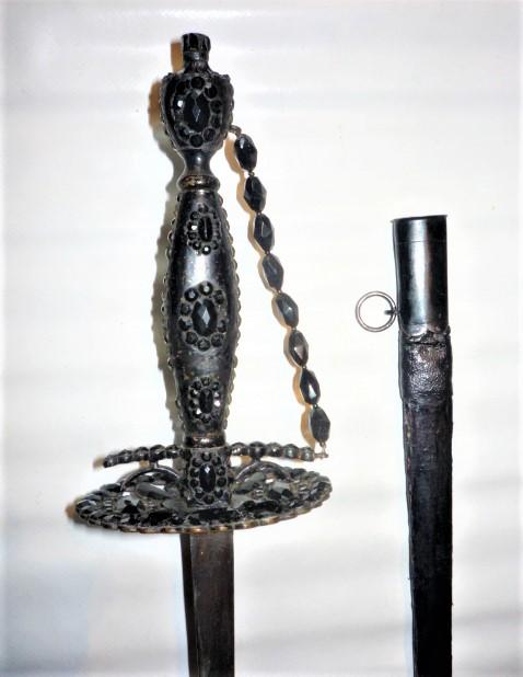 épée de ville de cour de deuil P1110724