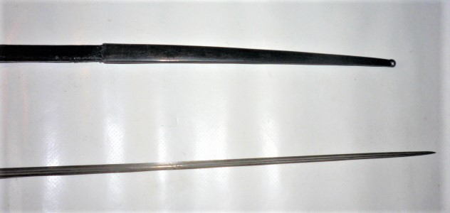 épée de ville de cour de deuil P1110726