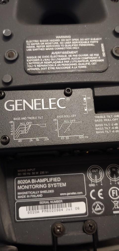 Genelec 8020D 20210514