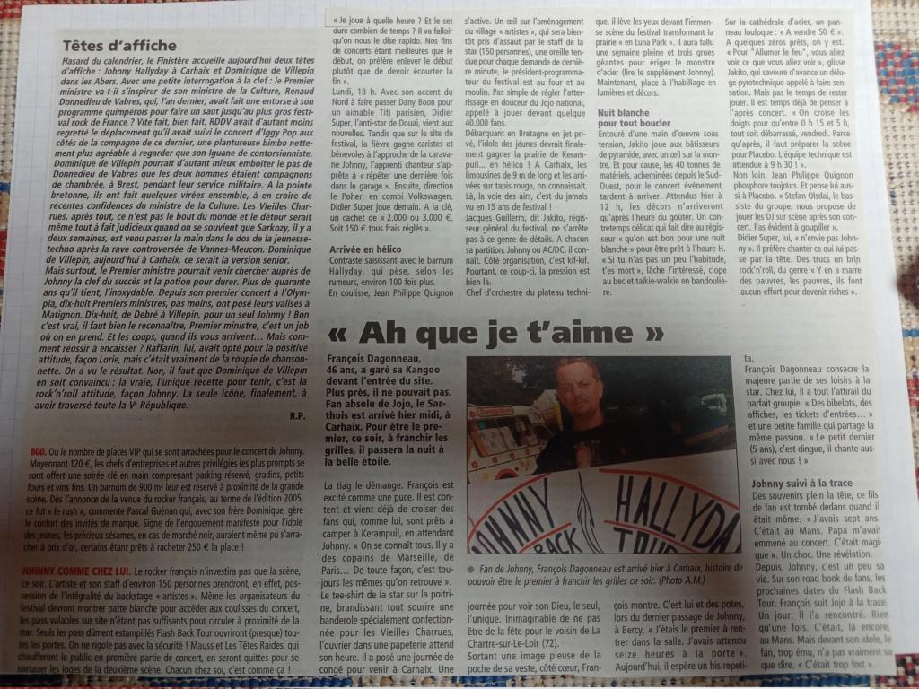 LES CONCERTS DE JOHNNY 'CARHAIX-PLOUGUER 2006' Img20224