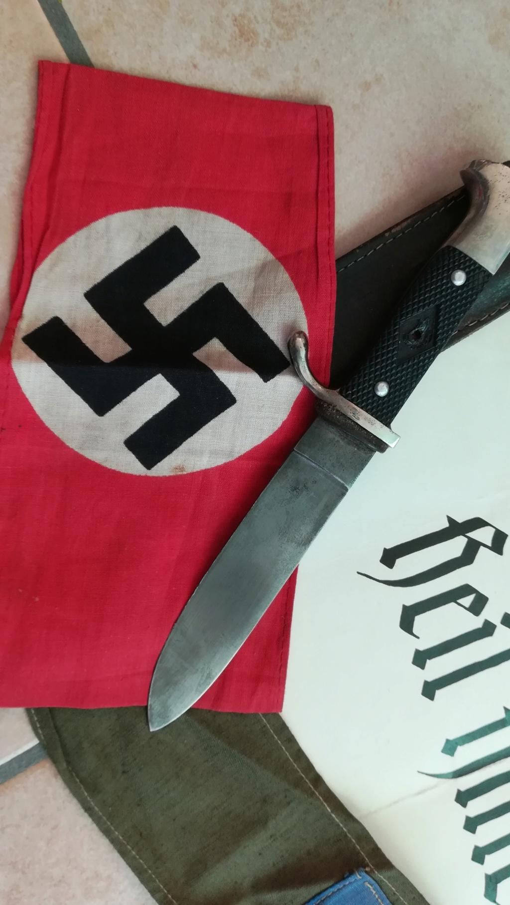 Lot documents , brassards NSDAP et FFI Img_2121