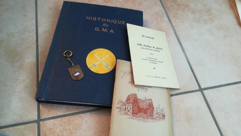 Lot documents , brassards NSDAP et FFI Img_2125