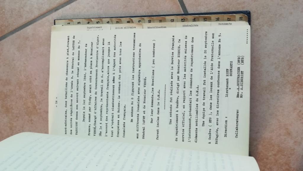 Lot documents , brassards NSDAP et FFI Img_2126