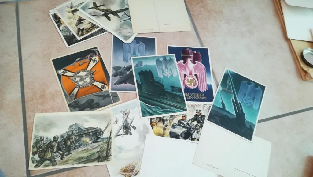 Lot documents , brassards NSDAP et FFI Img_2127