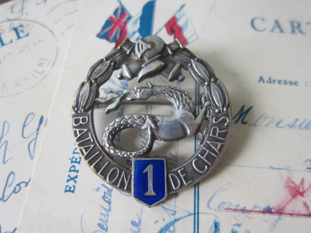 CHARS DE COMBAT : insigne du 1er BCC Img_6418