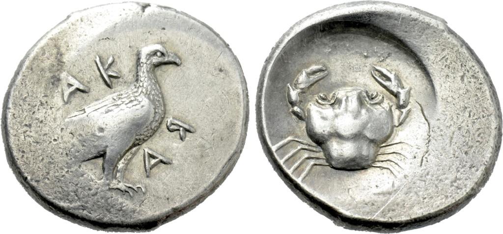 Didracma de Acragante (Akragas) - 480/78-470 a.n.e. Akraga10