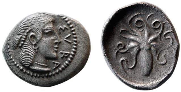Didracma de Acragante (Akragas) - 480/78-470 a.n.e. Siracu10