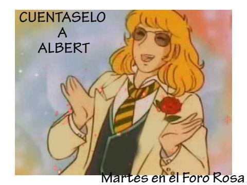 TERCER MARTES DE: CUENTASELO A ALBERT. Cal12