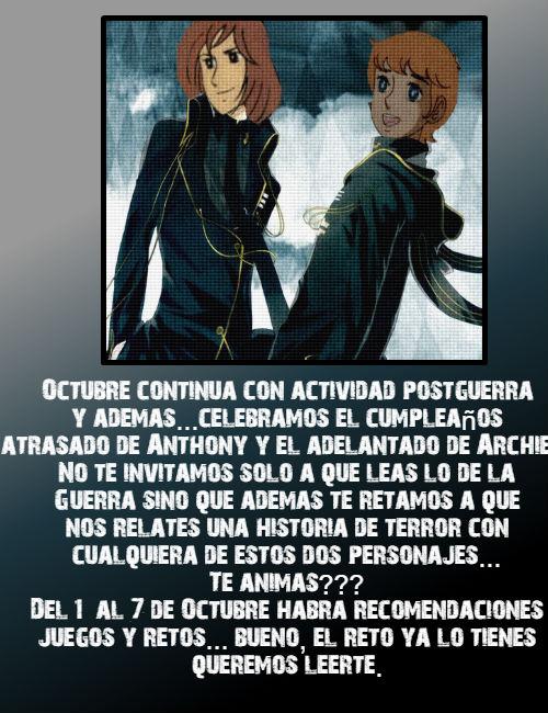 ACTIVIDAD POST GUERRA DEL MES DE ...OCTUBRE... Oct10