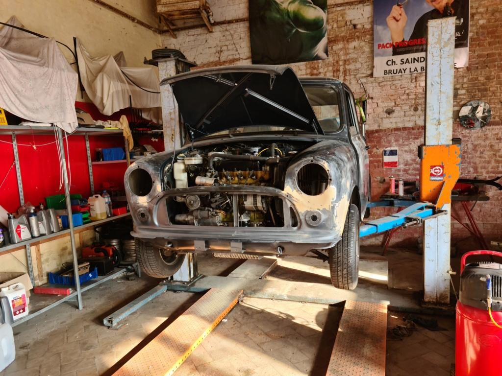 Restauration Mini 1000 '91 20200911