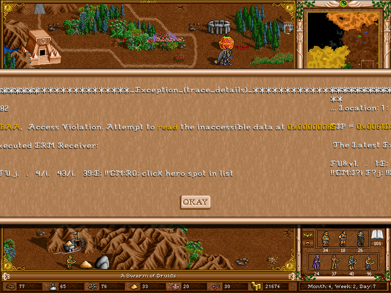 Heroes III: The Succession Wars v0.8.1 Beta Screen10