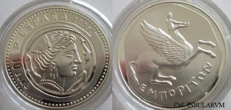 Euros y Pruebas de euro; exposición-concurso 10_eur10