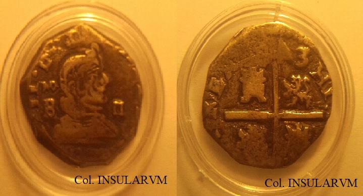 Felipe IV. 2 Reales. 1643. Madrid.B. MBC-. Ex Col. Javier Verdejo 110