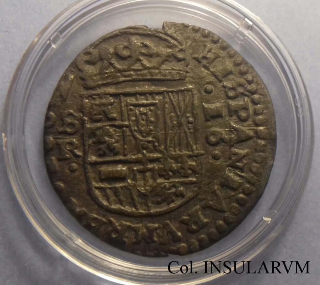 Felipe IV, 16 Maravedís 1662 R. (Sevilla) MBC+ 16_mar11