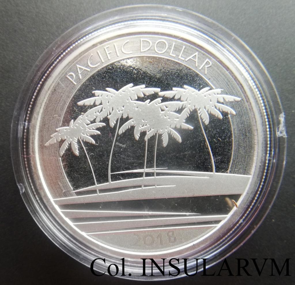 """1 Dólar. 2018. Fiji. """"Pacific Dollar"""". UNC/BU 1_dzla18"""