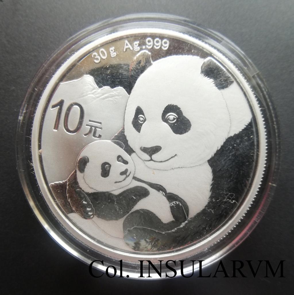 China, 10 Yuan. 2019. Panda. FDC/BU 1_onza49